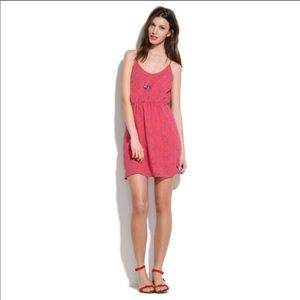 MADEWELL BROADWAY & BROOME Fire Crackle dress